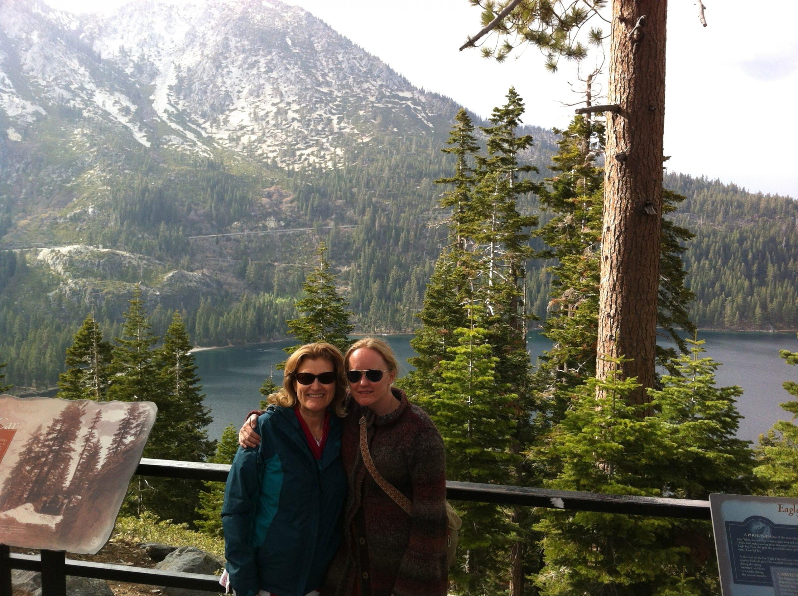 Tahoe Fans: Shakta and Jodie