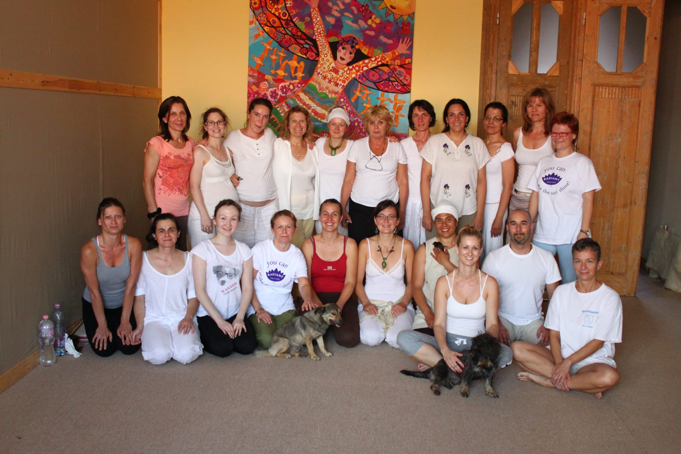 Budapest Radiant Child Yoga teachers