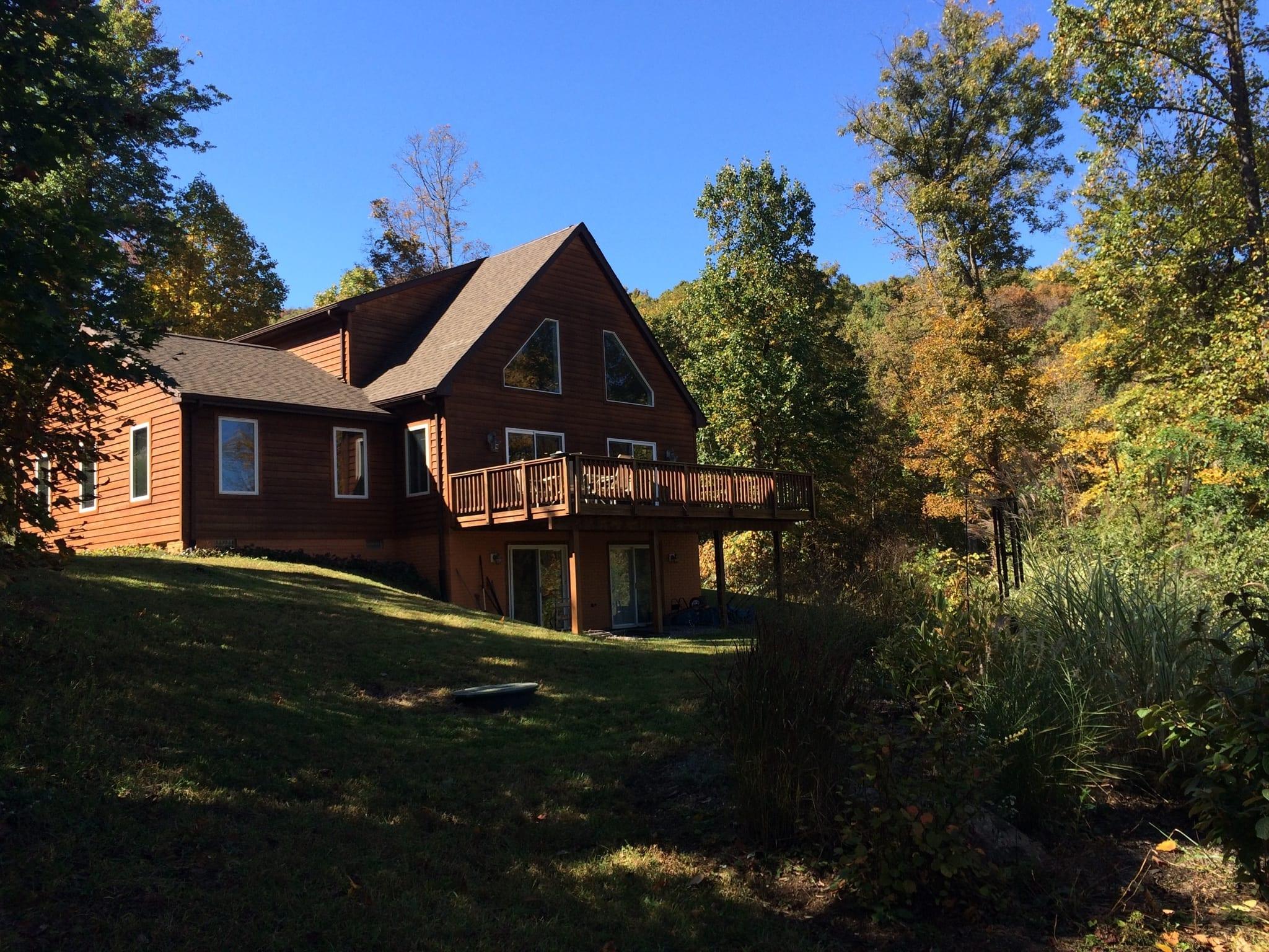 retreat in VA mountains