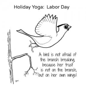 Holiday Yoga: Labor Day (Download)